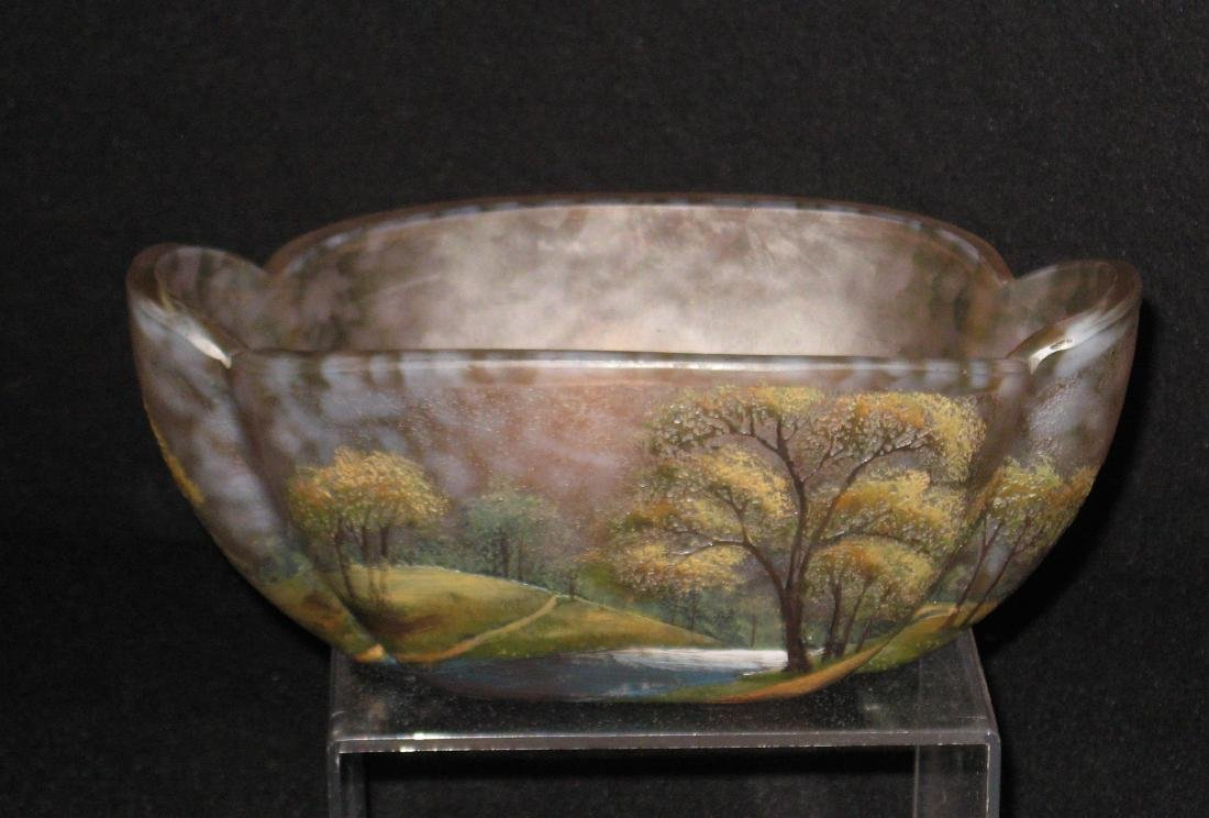 Lamartine French cameo glass vase,