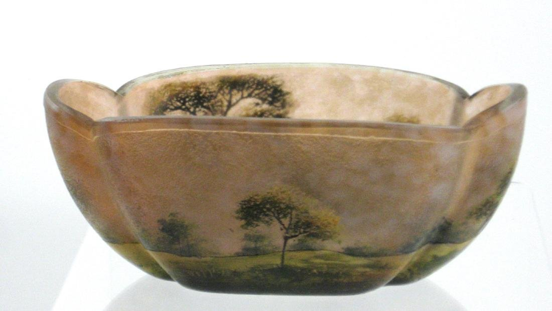 Lamartine French cameo glass vase, - 3