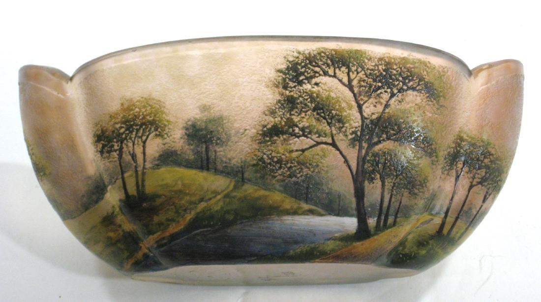 Lamartine French cameo glass vase, - 4