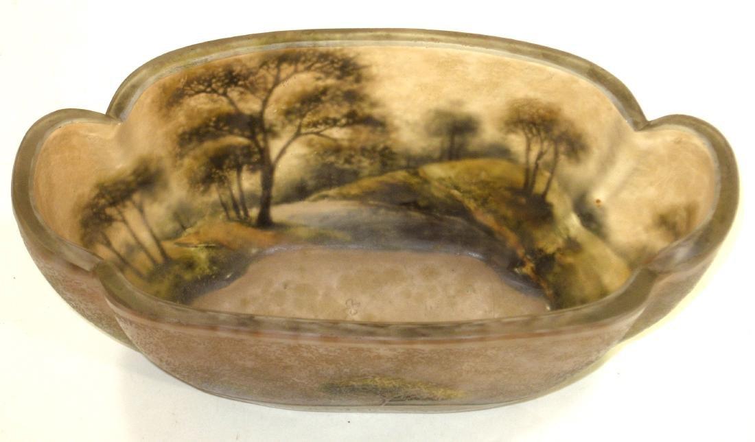 Lamartine French cameo glass vase, - 7