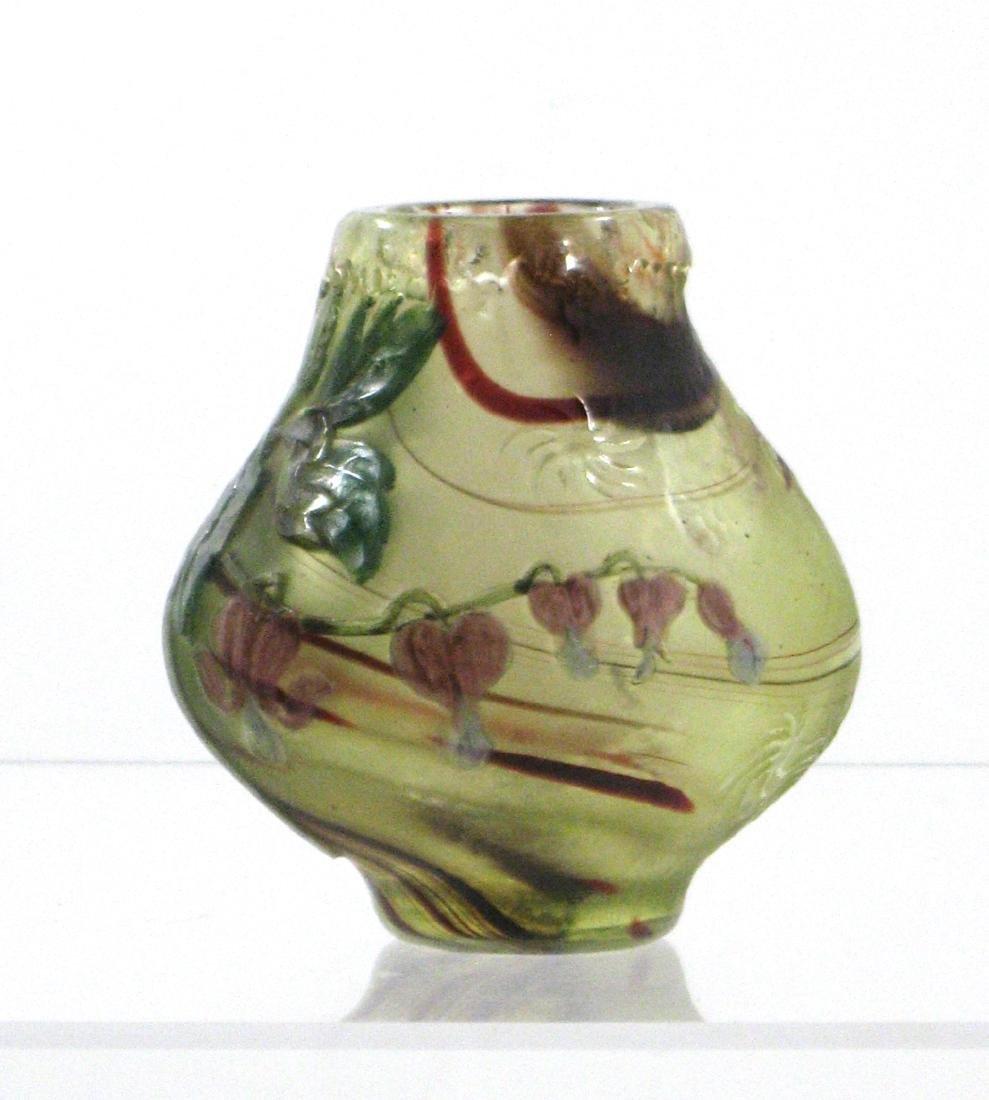 Burgun Schverer French cameo vase, - 2