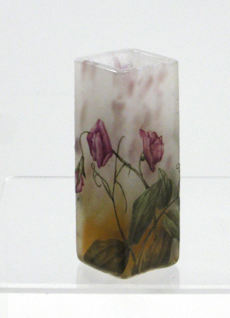 Daum Nancy French cameo vase, - 2