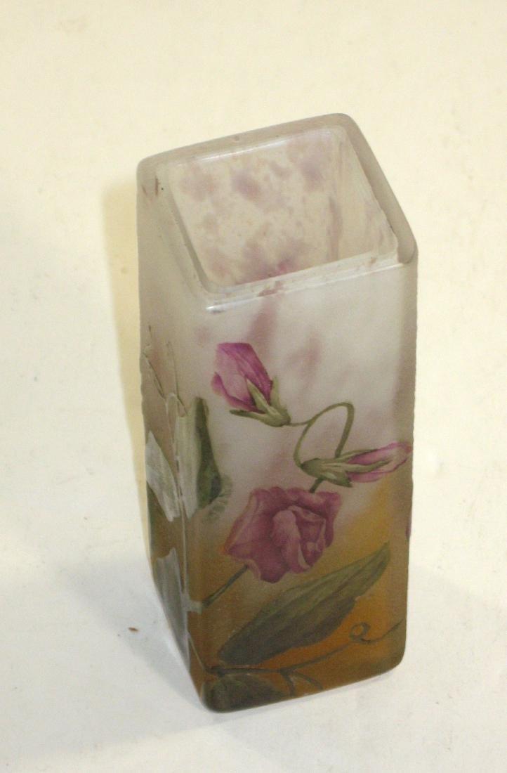 Daum Nancy French cameo vase, - 4