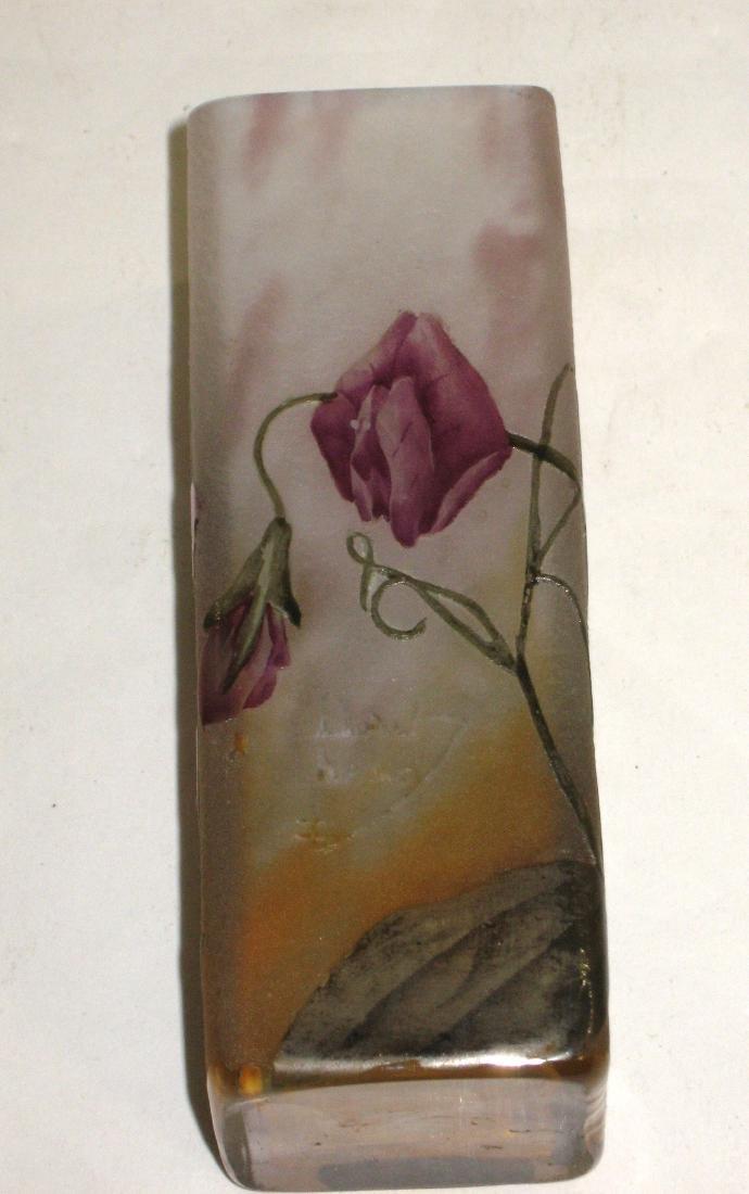 Daum Nancy French cameo vase, - 5