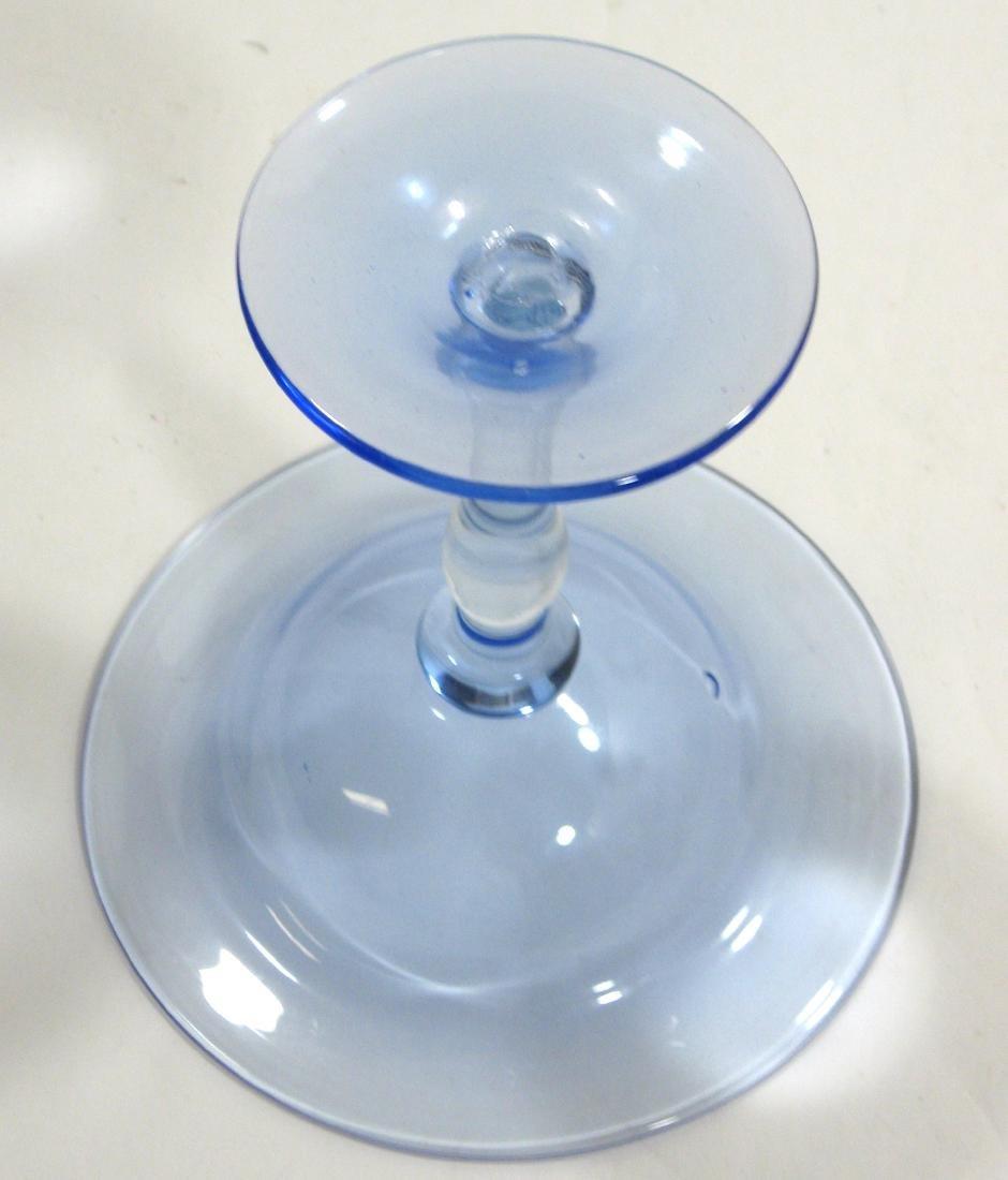 Steuben pastel experimental compote - 3