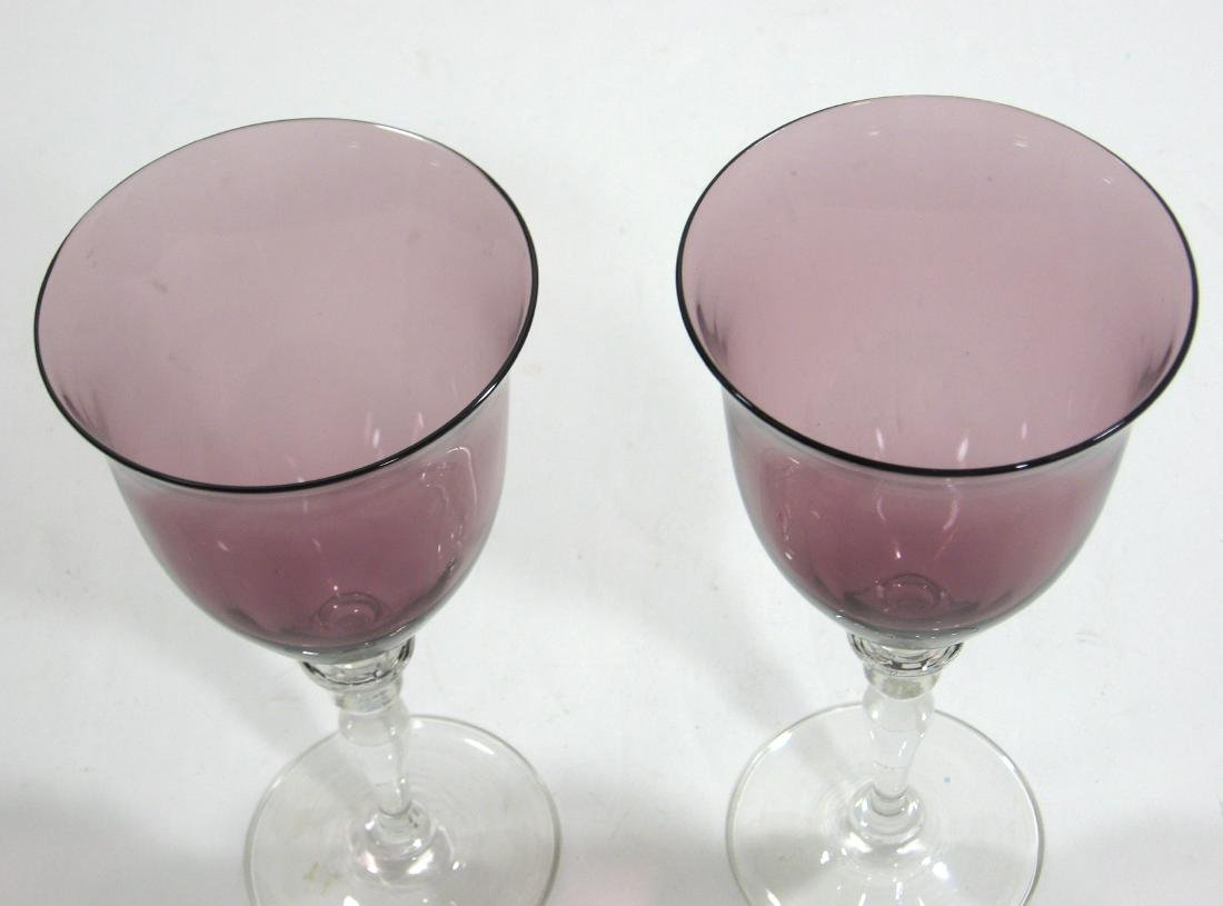 Two Steuben experimental goblets - 2