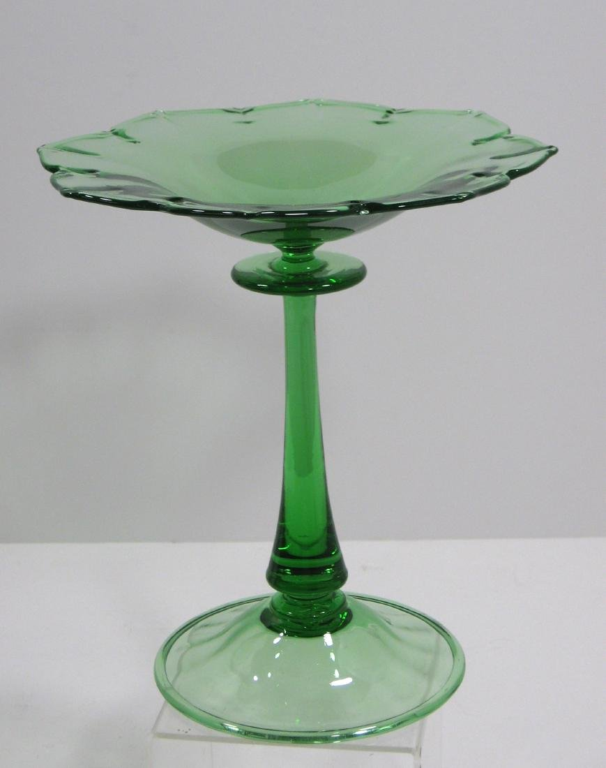Steuben Pomona green compote