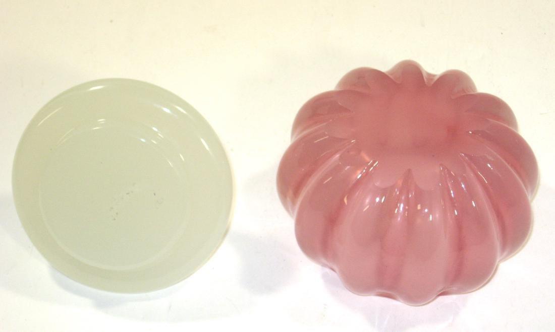 Rosaline glass powder box, - 4
