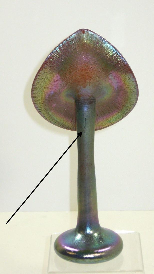 Steuben Jack-in-the-pulpit glass vase - 3