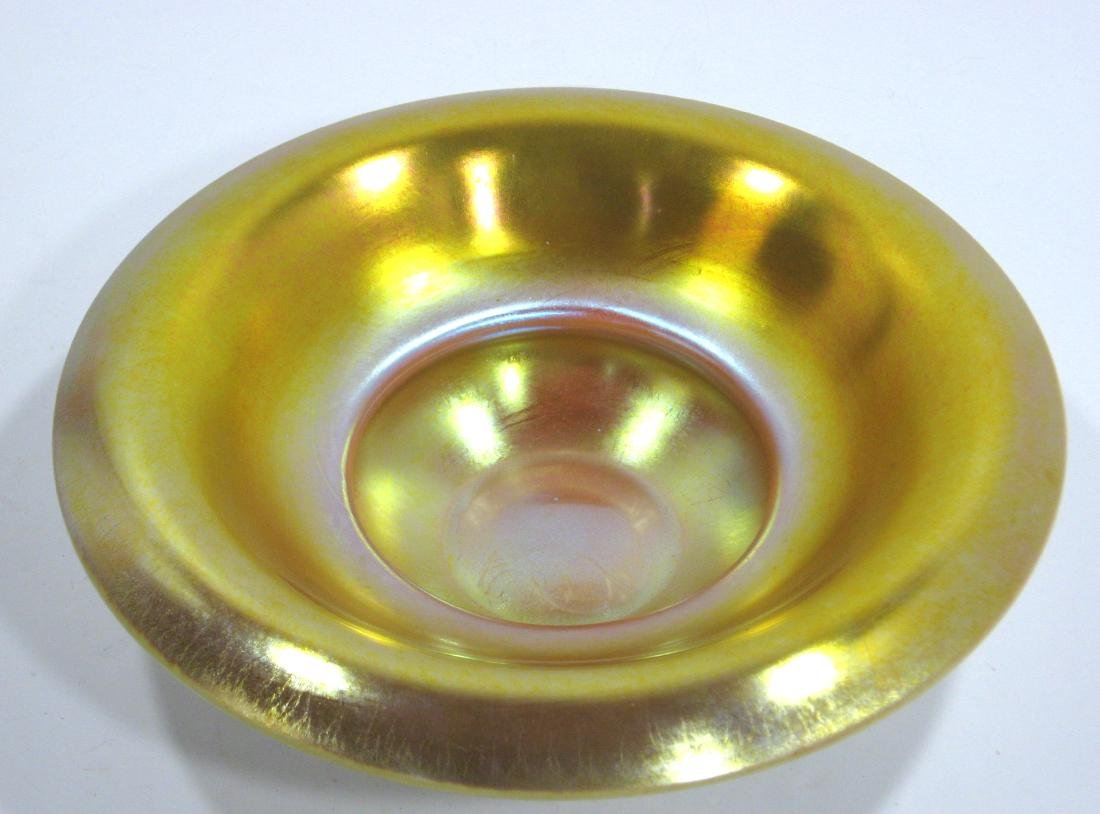 Steuben gold on Calcite bowl - 2