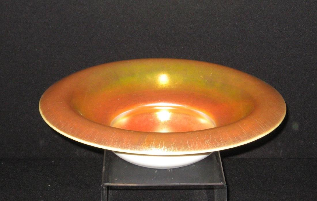 Steuben gold on Calcite bowl - 5