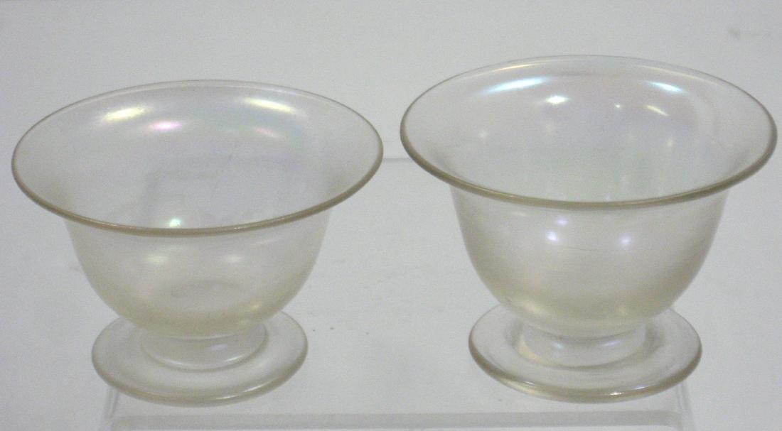 Two Steuben Verre de Soi salts - 2