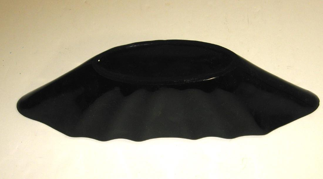 Steuben mirror black Art Deco bowl - 4