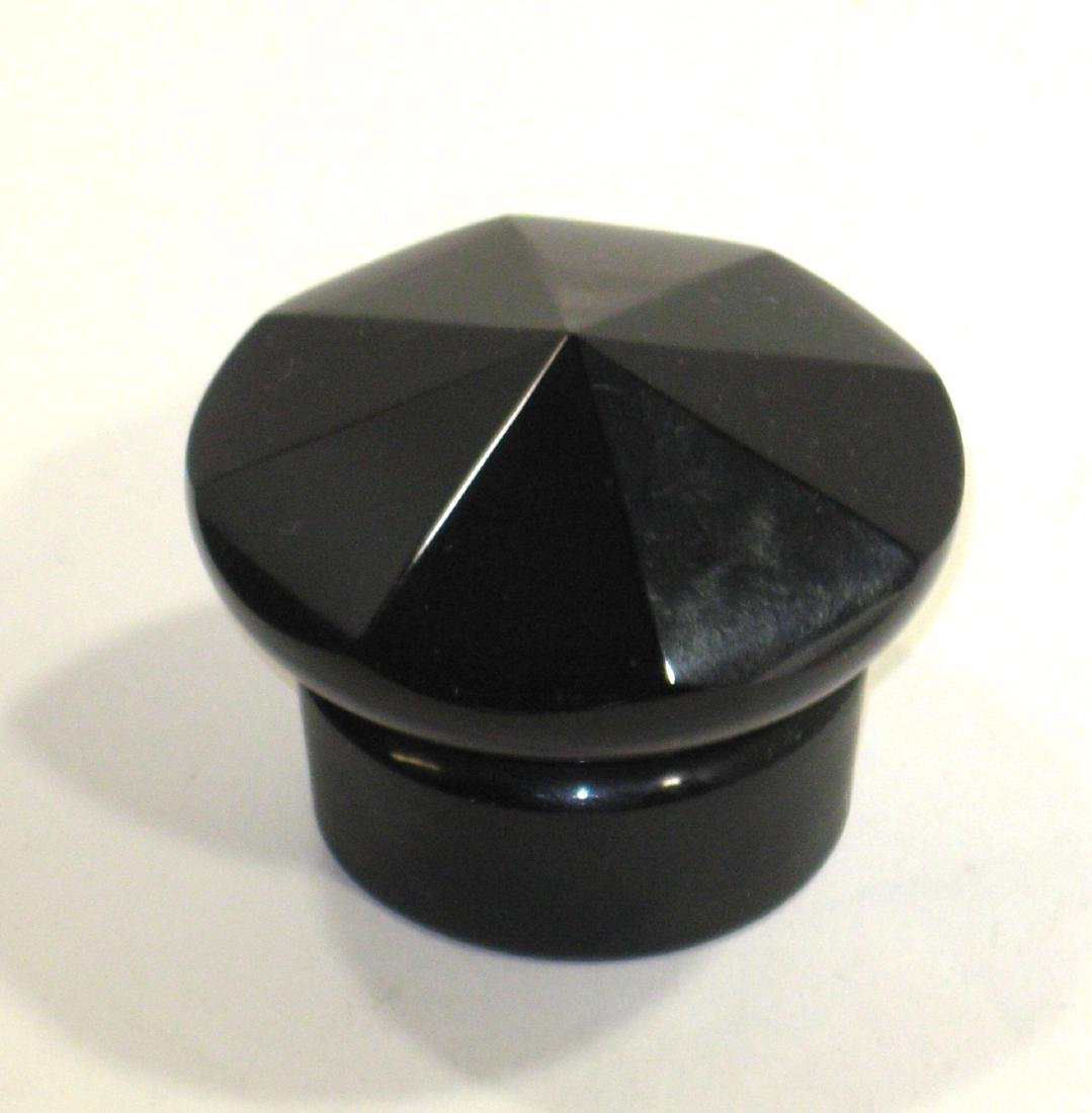 Mirror Black cologne stopper