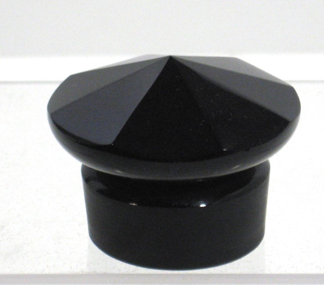 Mirror Black cologne stopper - 3