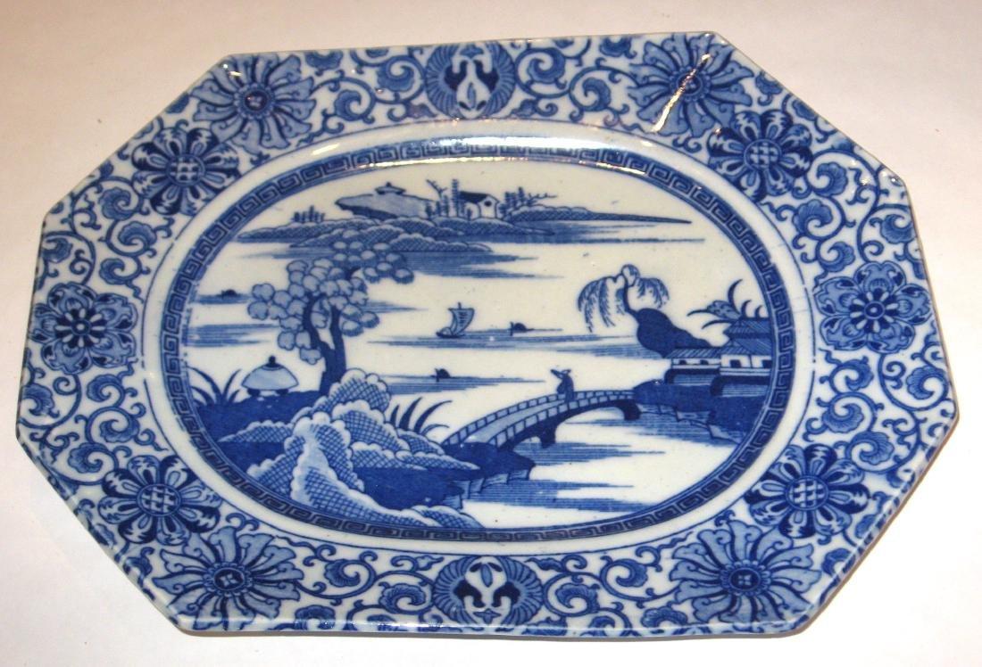 Chinese export china platter,