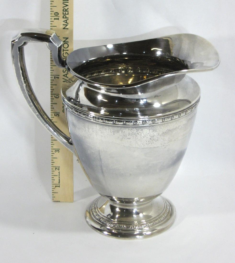 International Sterling pitcher, - 3