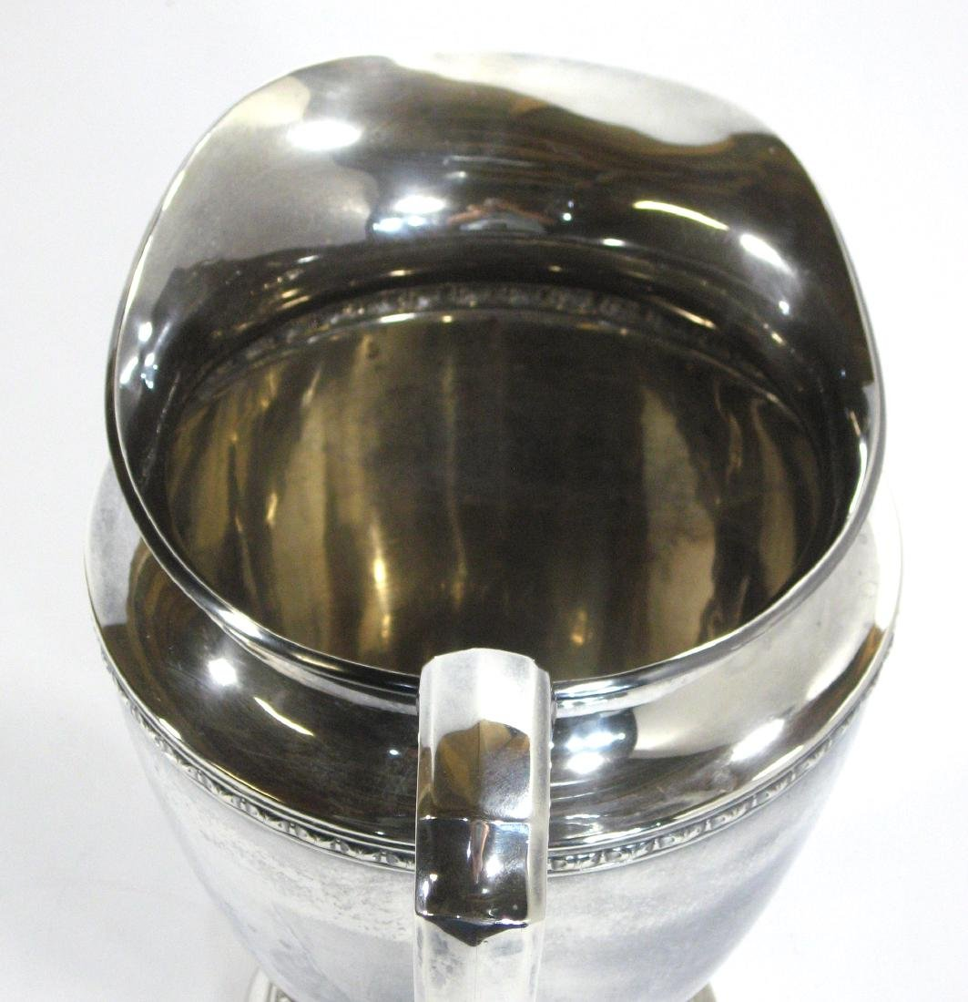International Sterling pitcher, - 4