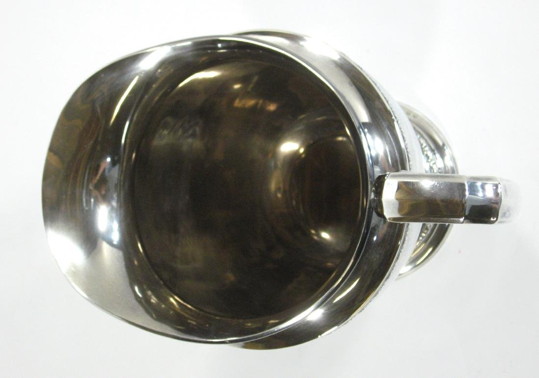 International Sterling pitcher, - 5