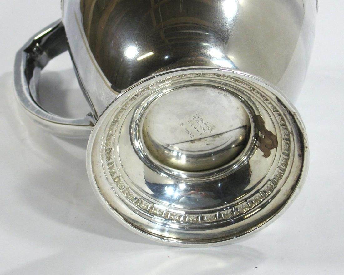 International Sterling pitcher, - 6