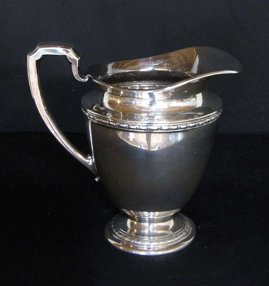International Sterling pitcher, - 7