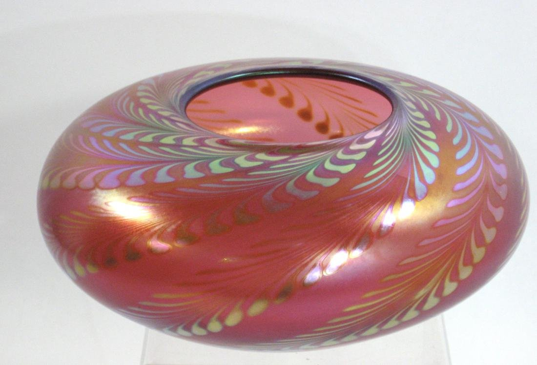 Steve Corriea Art Glass vase,
