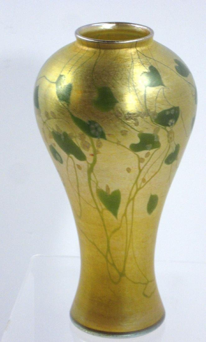 Tiffany Favrile Millefiori glass vase,