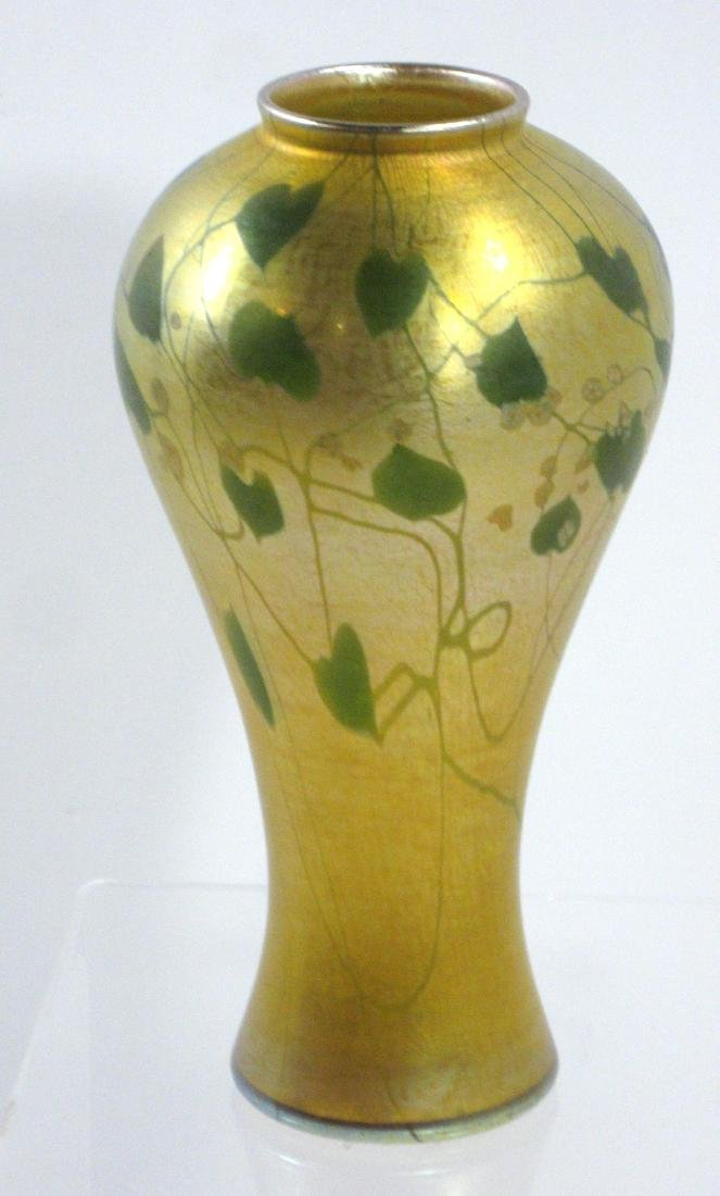 Tiffany Favrile Millefiori glass vase, - 5