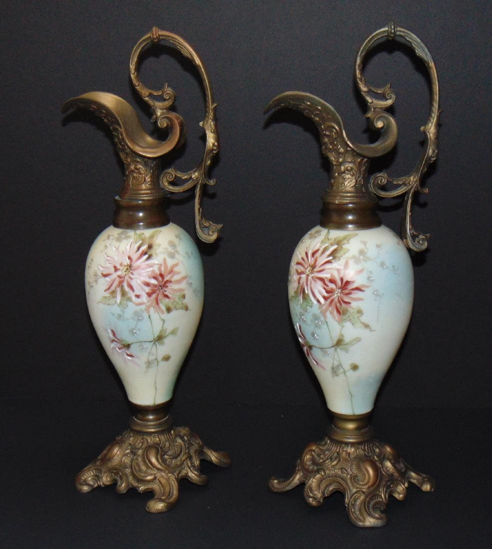 Pair of Smith Brothers ewers