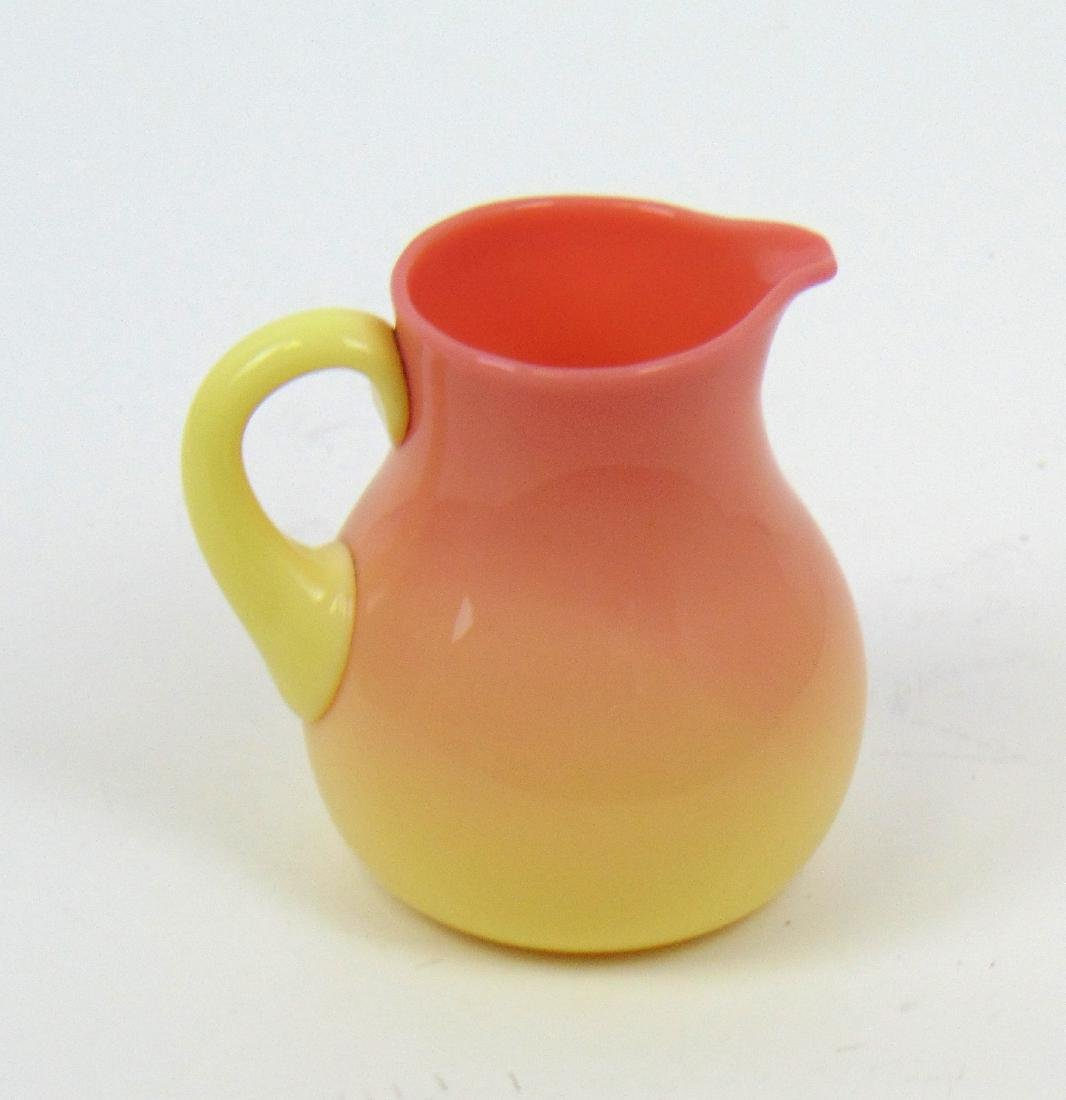 MW Burmese cream pitcher - 2