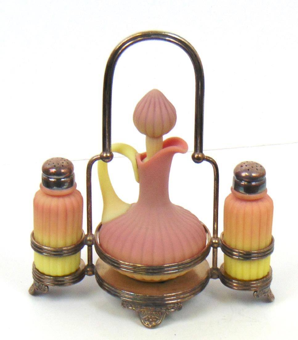 Burmese Cruet and Shaker Set - 3