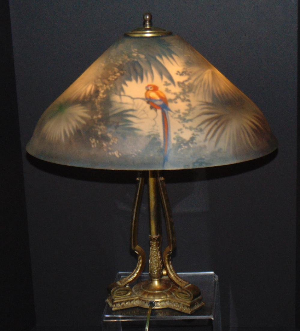 Pairpoint Jungle bird table lamp - 3
