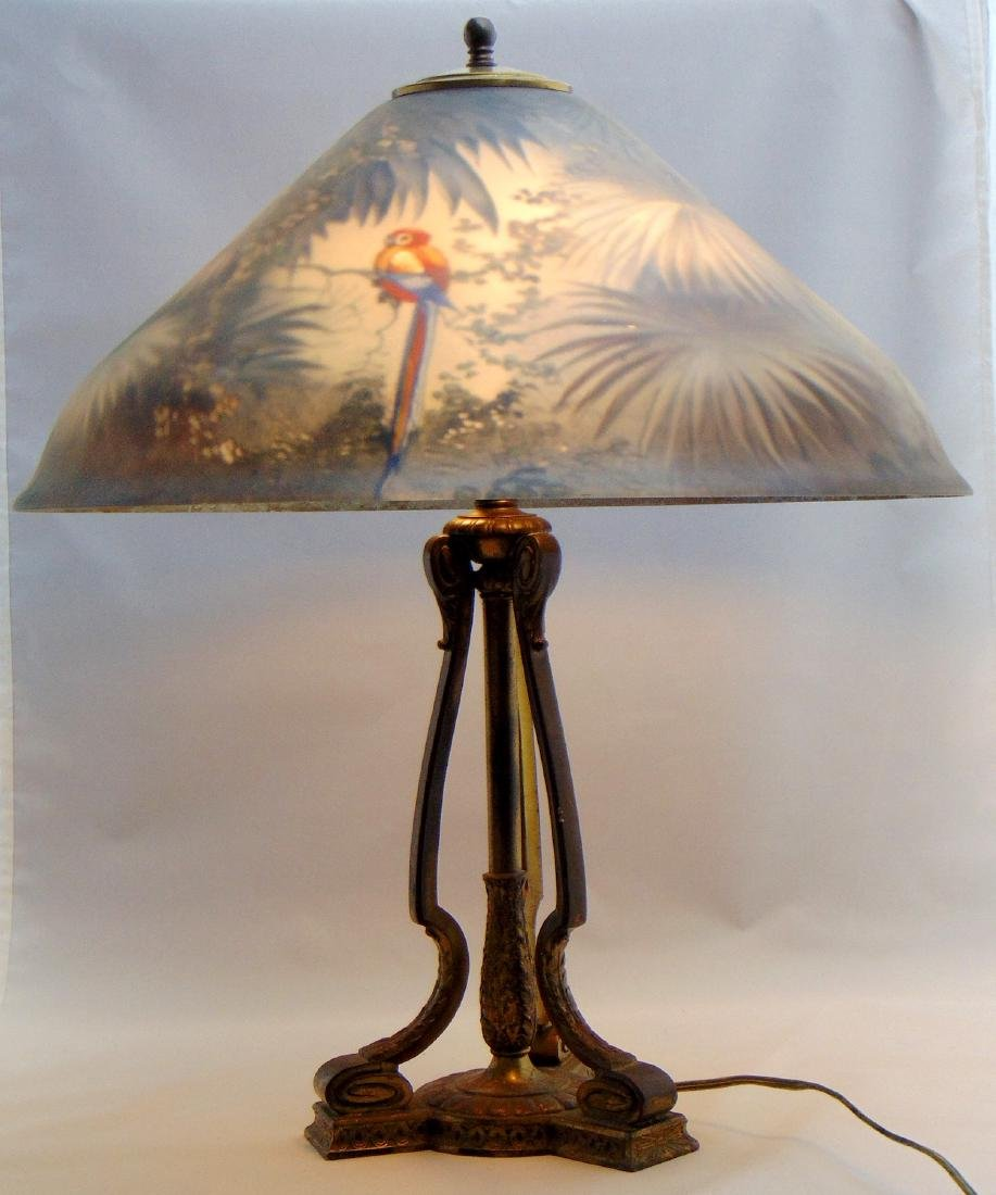 Pairpoint Jungle bird table lamp - 4