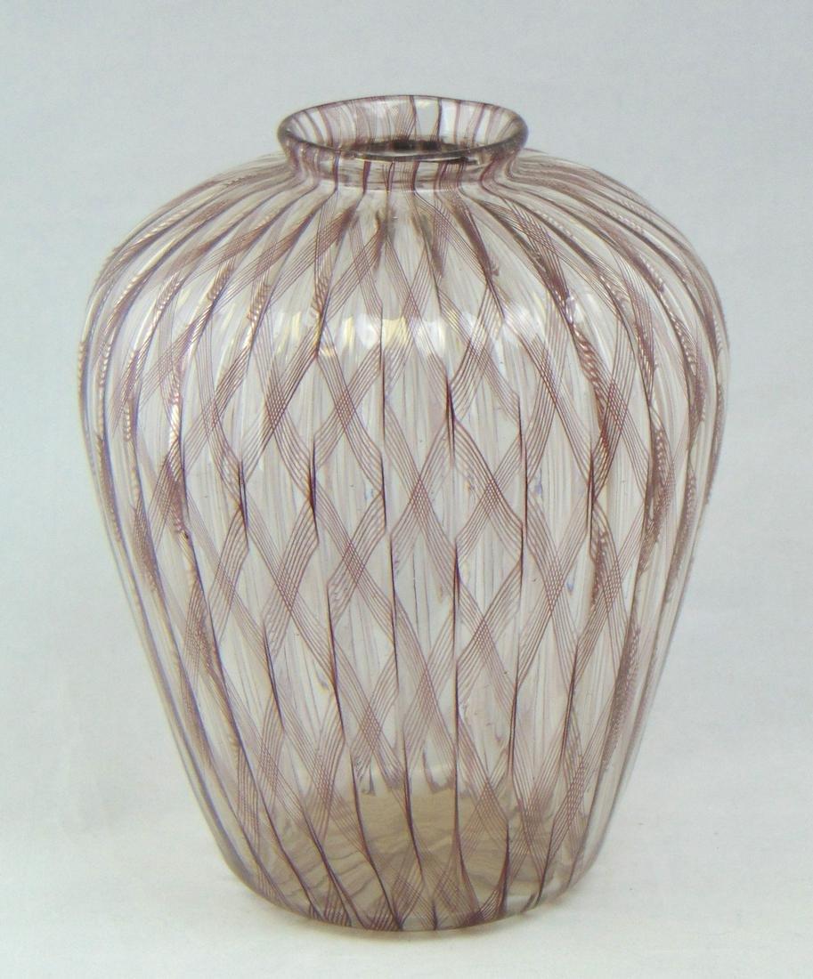 Lino Tagliapietra glass vase
