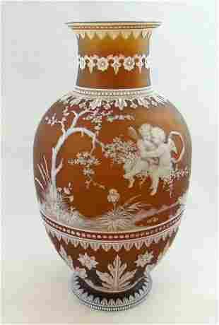 Thomas Webb and Sons Woodall vase