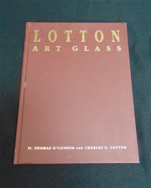 """""""Lotton Art Glass"""" by O'Connor"""