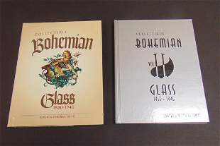 Collectible Bohemian Glass 1 and 2