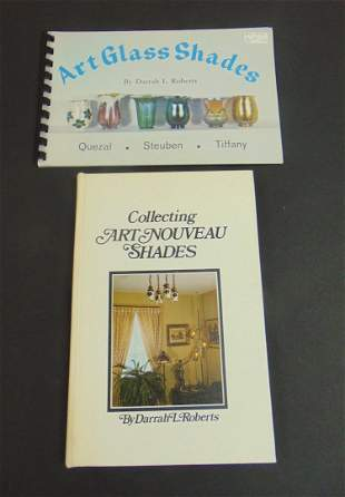 Two books on Art Glass shades
