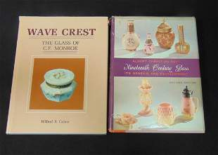 "Wave Crest"" ""Ninetieth Century Glass"