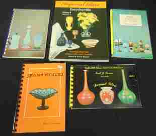 Five Art Glass books
