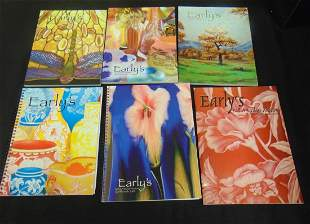 Group of Earlys Auction catalogs