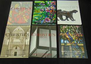 Group of Christies Auction catalogs
