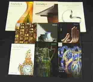 Ragos, Freemans, and Sothebys catalogs