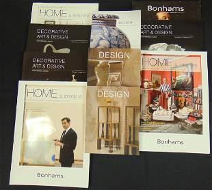 Bonham's and Christies catalogs