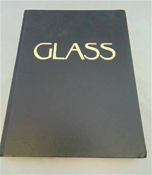 """Book """"Glass"""" by Victor Arwas"""