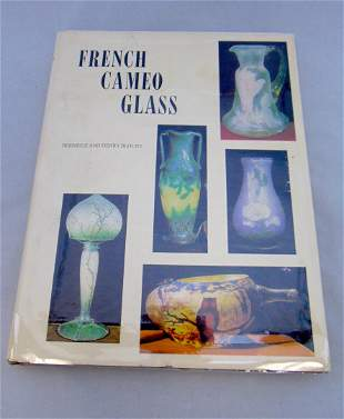 """Book """"French Cameo Glass"""" by Blount"""