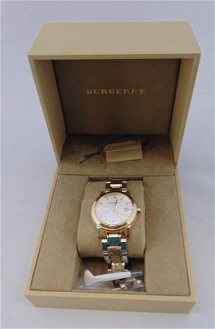 Burberry stainless watch