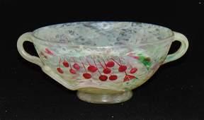 Daum Nancy French cameo glass bowl
