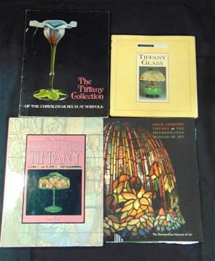 Books on Tiffany glass