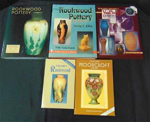 Five books on Art Pottery